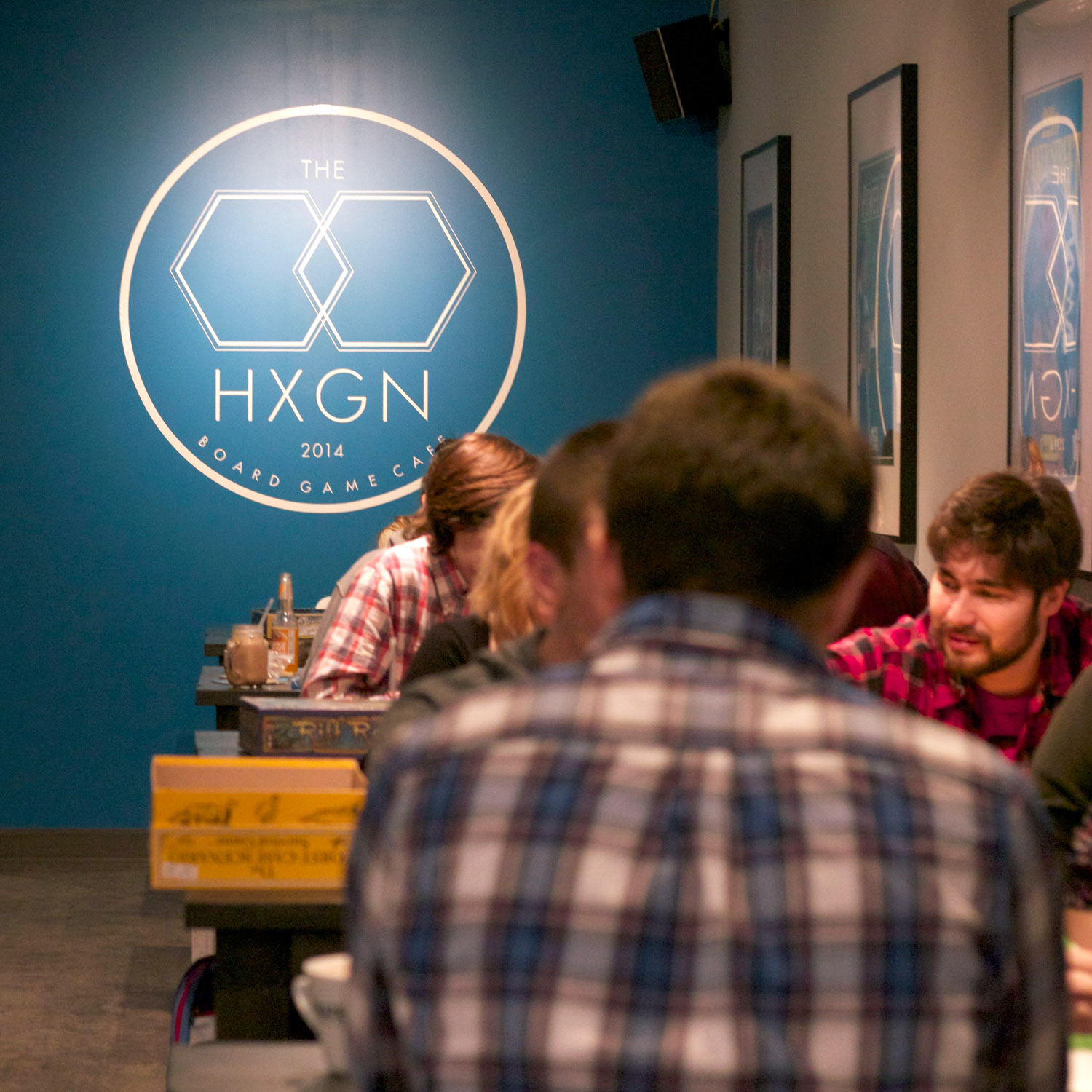 About The Hexagon Board Game Cafe