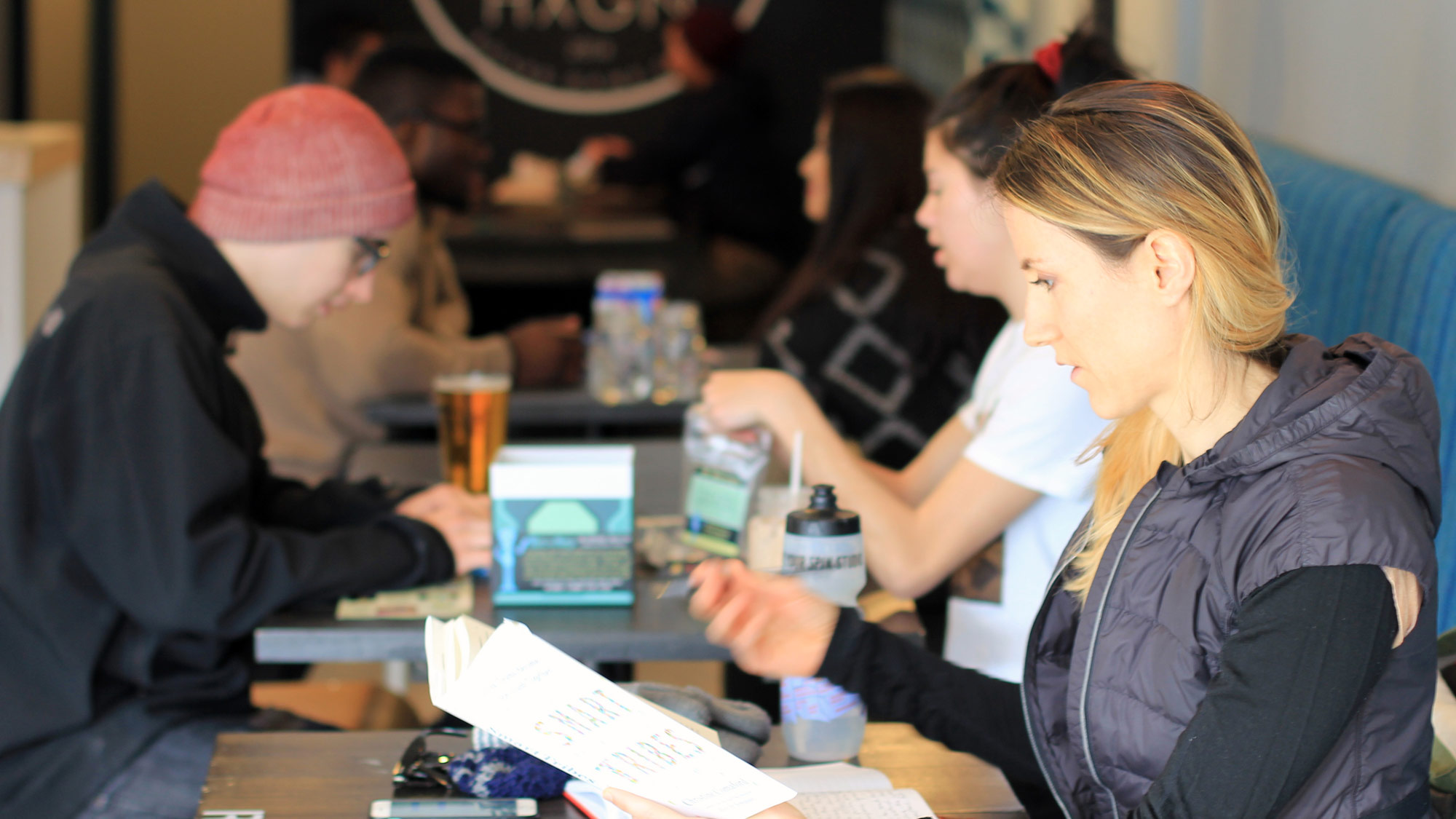 Play Games at The Hexagon Board Game Cafe